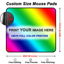 custom mouse pads any size to fit your needs | X-raypad