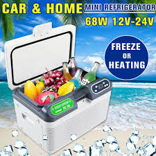 12L <b>12V</b>/<b>220V Portable</b> Mini Refrigerator <b>Car</b> Camping Home Fridge ...