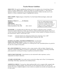 sample of teacher resume for special education cipanewsletter exciting special education teacher resume brefash