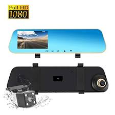 Dash Cam Dual Lens Front and Rear Cam, Rear View ... - Amazon.com
