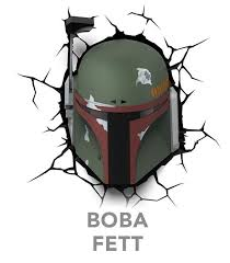 <b>Star Wars 3D</b> Deco Lights: Boba Fett - by ThinkGeek | GameStop