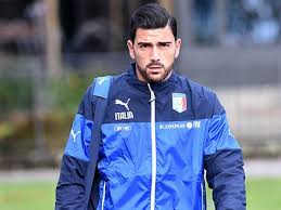 Image result for pic of Graziano Pelle in italy color holding his head