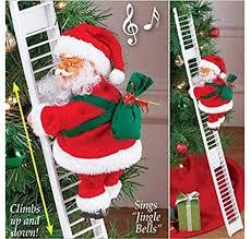VARWANEO Electric Climbing Ladder Santa Claus ... - Amazon.com