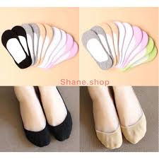 Shane <b>12 Pairs Ladies</b> Foot Socks invisible Socks | Shopee ...