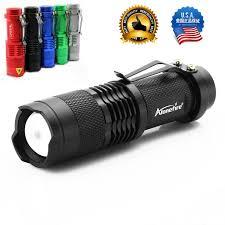 USA UE Gorąca <b>SK68 CREE XPE Q5</b> Latarka LED Mini Przenośne ...