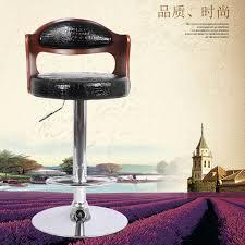 Современный <b>барный стул</b> высокого качества, вращающийся ...