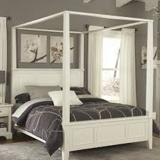 interior white wooden canopy bed bedroompleasing furniture unique custom full size