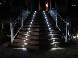 decorative deck stair led lighting amazing outdoor lighting