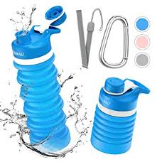 Collapsible Foldable Water Bottle - BPA Free FDA ... - Amazon.com