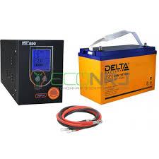 (ИБП) Энергия ПН-500 + Аккумуляторная <b>батарея Delta DTM</b> ...