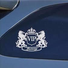 1PC <b>14*11cm</b> New <b>Style Car</b> Stickers VIP The Lion Reflective Vinyl ...