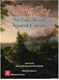 GMT Games GMT1514 Falling Sky: The Gallic <b>Revolt Against</b> ...