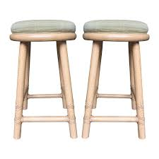 mcguire furniture company bamboo upholstered counter stools set bamboo company furniture