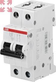 <b>Автоматический выключатель S202</b> C40, 6кА, 2 полюса, <b>40</b> ампер ...