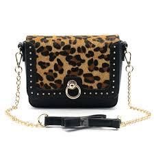 <b>2019 New</b> Designs Leopard/PU Trim Crossbody <b>Shoulder Bag</b> for ...