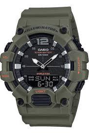 Кварцевые <b>мужские</b> наручные <b>часы Casio HDC</b>-<b>700</b>-3A2 купить в ...