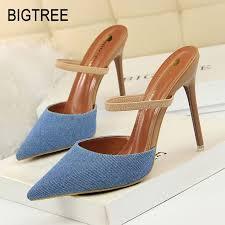 <b>Bigtree</b> Shoes Women Pumps <b>New</b> Women Stiletto <b>Fashion</b> High ...