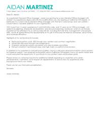 cover letter general manager administration office support gallery of sample cover letter for restaurant manager