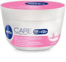 Care <b>питательный крем</b>-легкость <b>для</b> чувствительной кожи - <b>NIVEA</b>