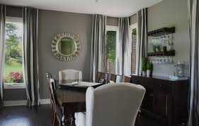 Mirrors For Dining Room Walls Dining Room Decorating Ideas Black Table Ivory Wall Wooden Floor