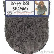 <b>Полотенце для собаки</b> SHAMMY, 33*79 см, серое <b>Dog</b> Gone ...