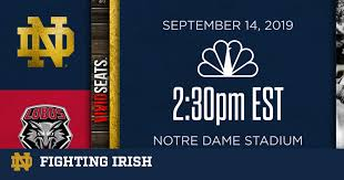 #7 Notre Dame vs. New Mexico: NBC Sports and Live Radio Links