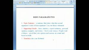 the six parts of the argumentative research paper the six parts of the argumentative research paper