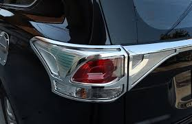 <b>2pcs ABS Rear Tail</b> Light Lamp Cover For Mitsubishi Outlander ...