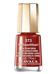 «<b>Лак для ногтей</b> кремовый бордо Mavala Nail Color <b>Cream</b> 312 ...