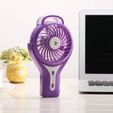 <b>Mini USB Charging</b> Noiseless Handhold Fan <b>Humidifier</b> Beauty ...