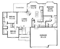 Split Bedroom Floor Plans    Bedroom Split Floor House Plans        Split Bedroom Floor Plans   House Plans With Split Bedrooms