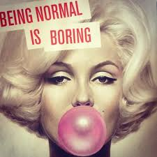 Why being normal? | lifepopper.com