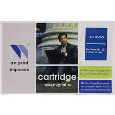 <b>Тонер NV-Print C-EXV40</b> Черный (Black) — купить, цена и ...