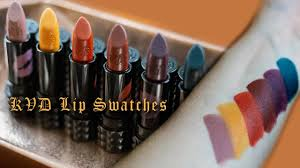 <b>KVD</b> Studded Kiss Fall Capsule Collection Lip Swatches - YouTube