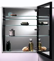 Recessed Bathroom Mirror Cabinets Bathroom Distinctive Bathroom Mirror Cabinet Light And Double