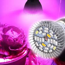 8W / <b>18W</b> / <b>28W LED</b> E27 <b>Plant Grow</b> Light Veg Flower Indoor ...