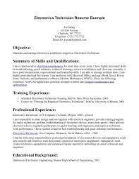 technician resume example page  seangarrette coelectronic technician resume examples bokekholes best resume for electronic technician   technician resume example