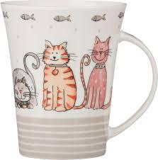 """<b>Кружку lefard</b> """"<b>кошки</b>"""", 400 мл. b18-l0393 (разноцветный) купить в ..."""