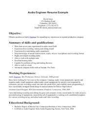 Mwd Field Engineer Sample Resume Haadyaooverbayresort Com