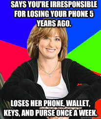 Says you're irresponsible for losing your phone 5 years ago. Loses ... via Relatably.com
