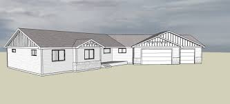 Affordable Spokane house plans drafting and design servicehouse plan sketchup example