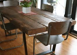 eye chunky wooden dining