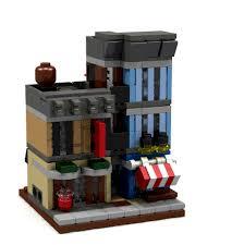 lego office building. original lego creation by independent designer office building