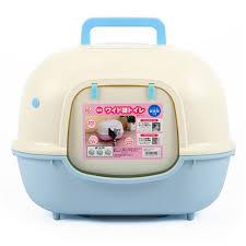 enclosed large cat litter box bedpans indoor pet toilet training caja de arena para gatos pet arena kitty litter box