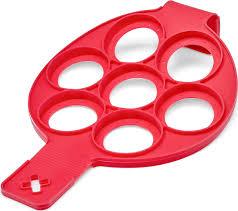 <b>Форма для оладий Walmer</b>, цвет: красный, на 7 ячеек, диаметр ...