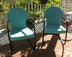 colored patio chairs
