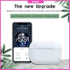 FW I3pro wireless <b>Bluetooth headset</b> with three true pop-up window ...