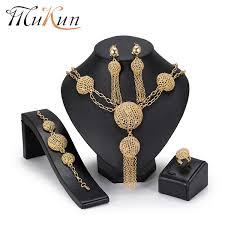 2019 <b>MuKun Dubai</b> Bridal <b>Jewelry Sets</b> For Women Wedding ...