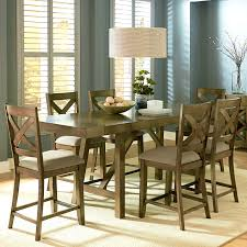 Dining Room Set Counter Height Furniture Charming Silver Dining Room Table Sets Counter Height