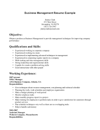 business business management resume sample business management resume sample images
